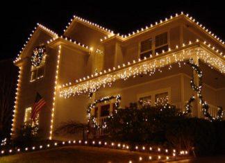 diwali house ligt decoration