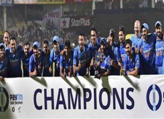 india newzeland series winning team