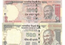 indian banned currency