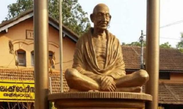 महात्मा गांधी की प्रतिमा