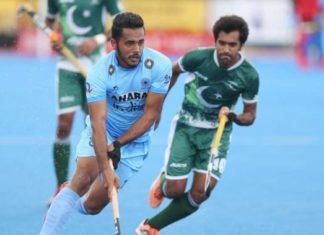 इंडिया-पाकिस्तान हॉकी मैच