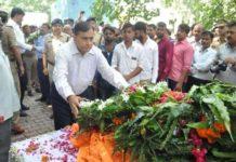 सुरेंद्र दास का अंतिम संस्कार